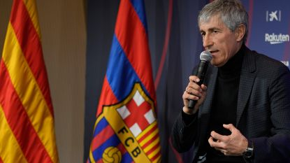 """Waarom nieuwe coach Setién bij het Barça-huis past: """"Ik zou een vinger hebben gegeven om met Cruijff te mogen voetballen"""""""