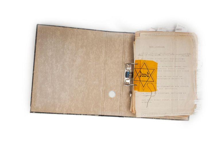Materiaal uit het archief van Arnold Weyel Beeld -