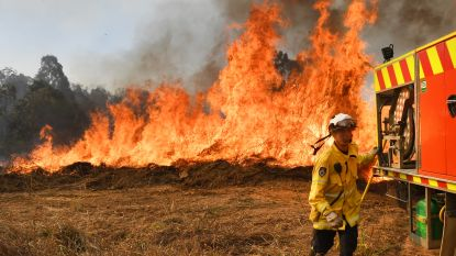 Bosbranden  in Australië mogelijk aangestoken door tieners