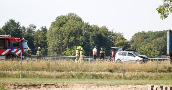 Vertraging op A12 bij Zevenaar na ongeluk neemt af.