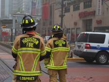 Explosie in gebouw Houston zorgt voor grote ravage