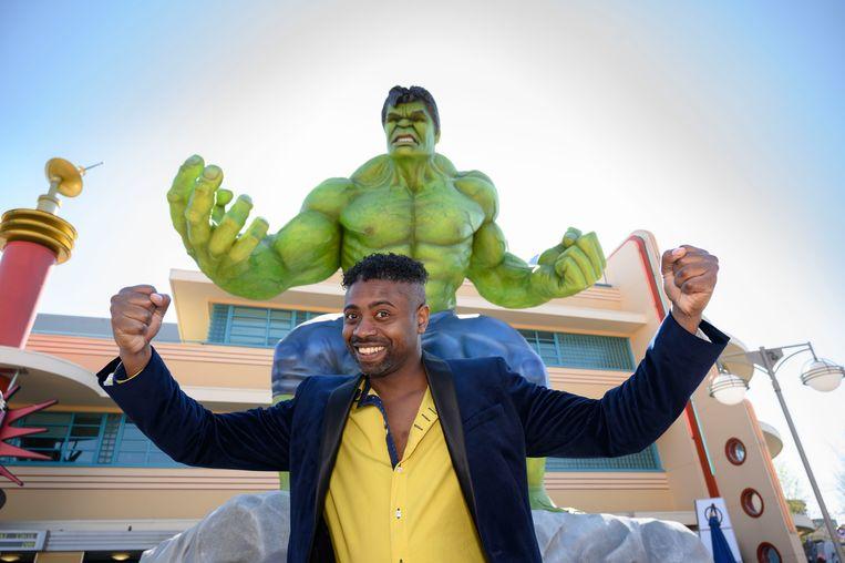 Johan laat The Hulk in zichzelf los.