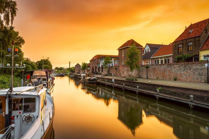 De Zuidwal van Leerdam.