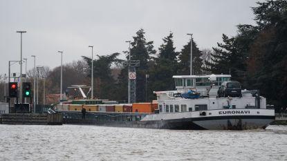 Minder scheepvaart op Albertkanaal in 2018