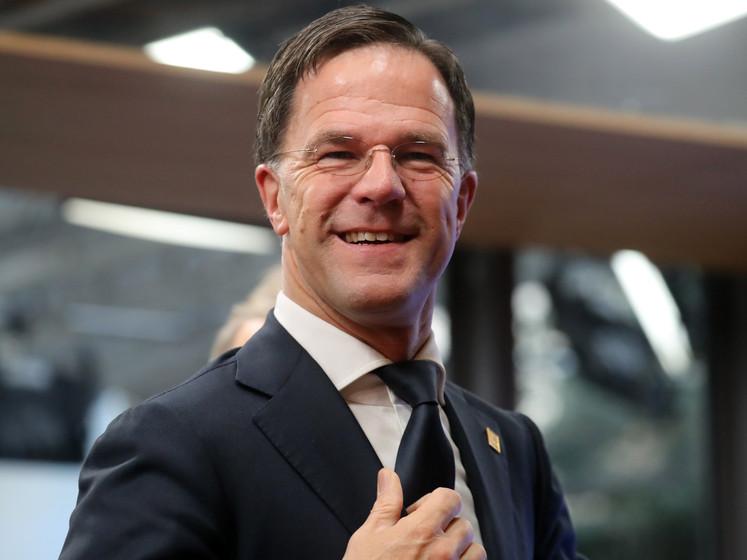 Rutte en collega's van Vrekkige Vier leggen gesprekken over nieuwe EU-budget totaal lam