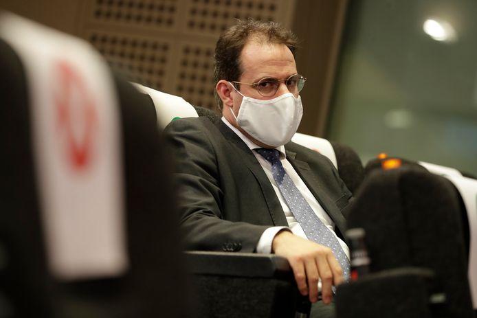 David Clarinval (MR) était contre la fermeture totale de l'horeca