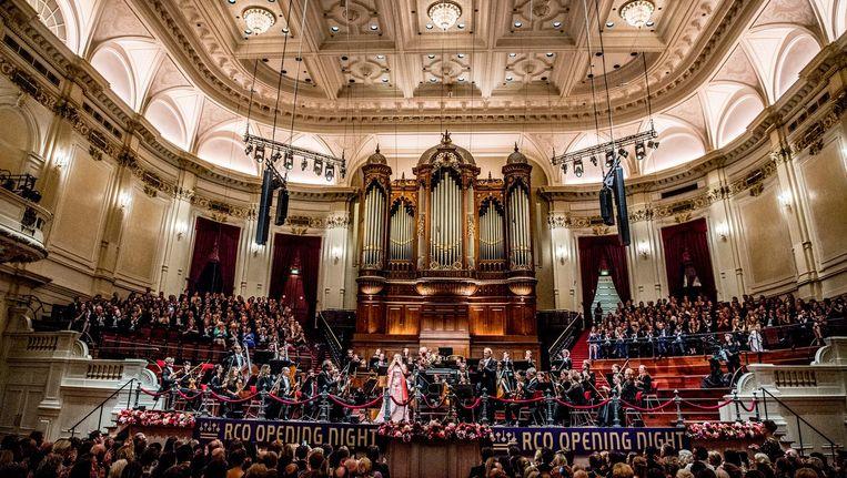 Het Concertgebouworkest. Beeld anp