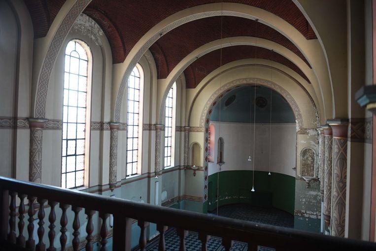 De kapel in het klooster is een pareltje.