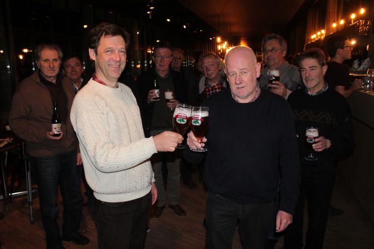 Record Bier zit nu niet alleen in een glas, maar ook in de vulling van de Dilbeekse praline.