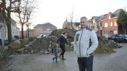 """Ronny Puyneers luidt alarmbel: """"Het Dorpsplein van Neerlinter is geen stort"""""""