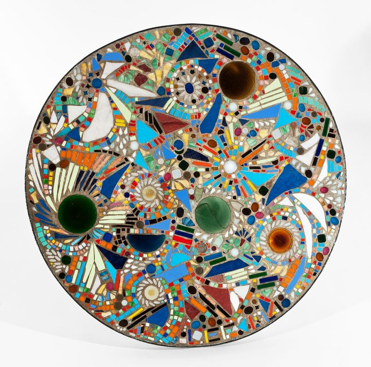 Lee Krasner Mosaic Table, 1947. Beeld Private Collection. Courtesy of Michael Rosenfeld Gallery