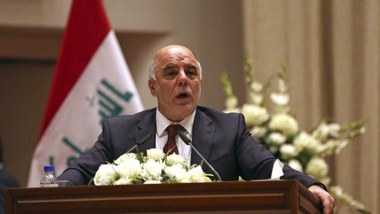 De nieuwe premier van Irak, Al-Abadi Beeld ap