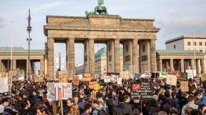 Tienduizenden betogen tegen hervorming auteursrecht op internet in Duitsland