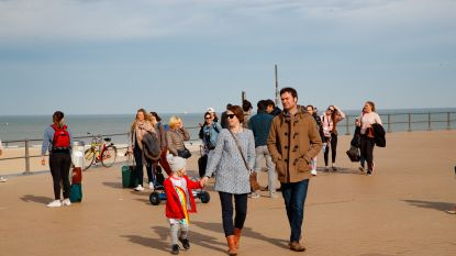 De kust verwacht druk paasweekend