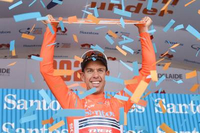 Richie Porte wint klassement Tour Down Under