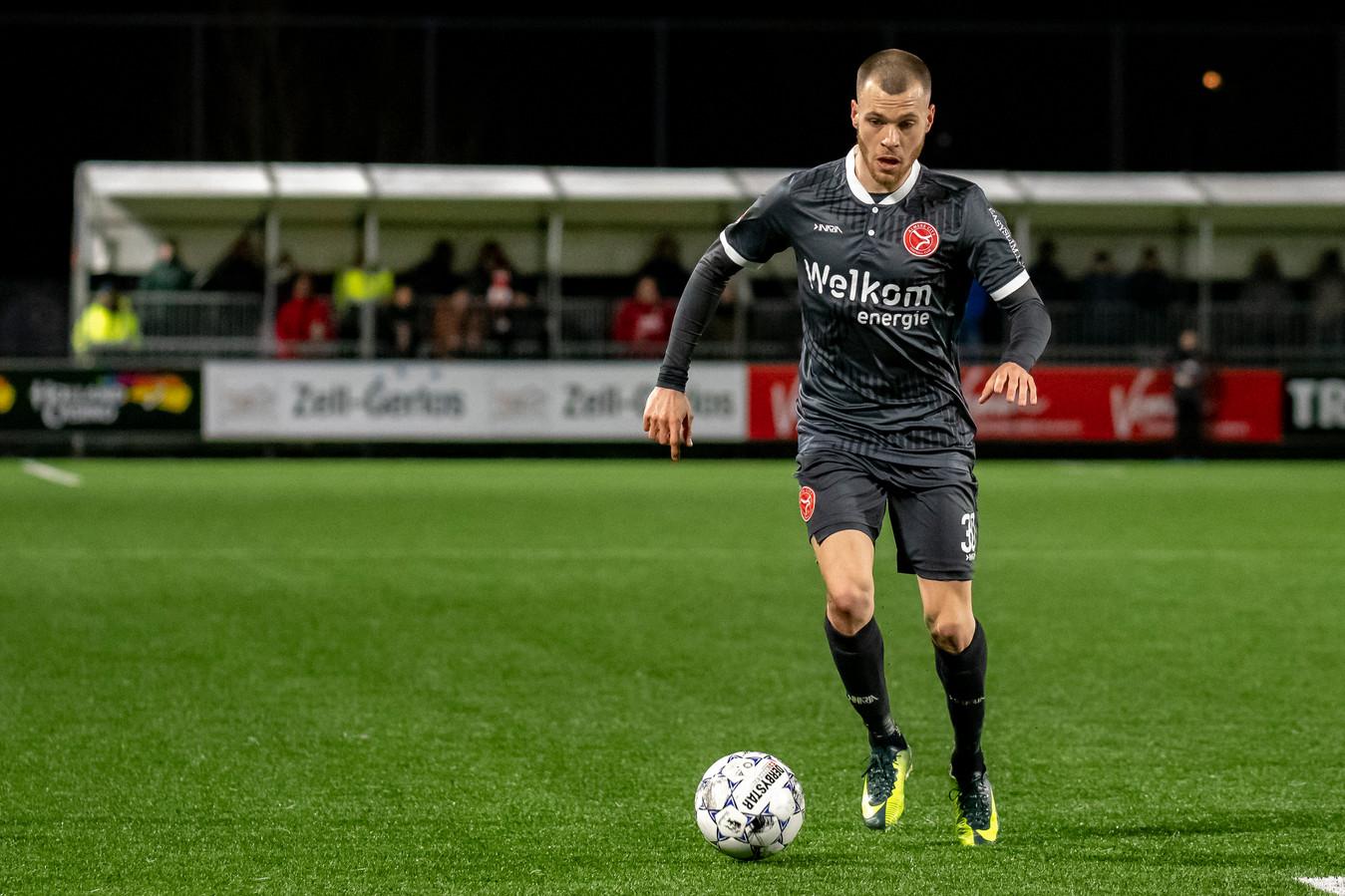 James Efmorfidis verhuist van Almere City naar RKC Waalwijk.