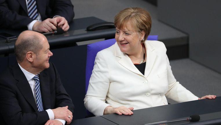 Bondskanselier Angela Merkel Beeld epa