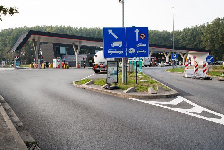 De snelwegparking in Jabbeke blijft zeker drie maanden gesloten van 20 uur tot 8 uur 's morgens.