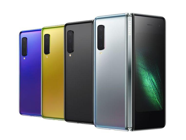 Samsung Galaxy Fold Beeld Samsung