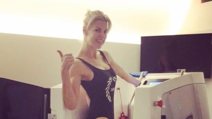 Getest: sporten als Tanja Dexters op de waterbike