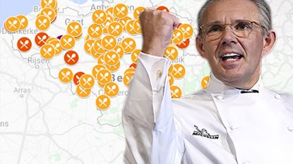 IN KAART. Peter Goossens blijft enige met drie Michelinsterren, dit zijn alle sterrenrestaurants in jouw buurt