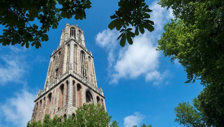 De Domtoren in het centrum van Utrecht. Beeld anp