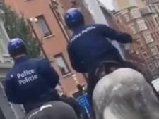 Un policier frappe son cheval à Bruxelles: bad buzz sur Facebook