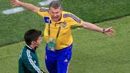 Mbokani en Dinamo Kiev nemen afscheid van coach Oleg Blokhin