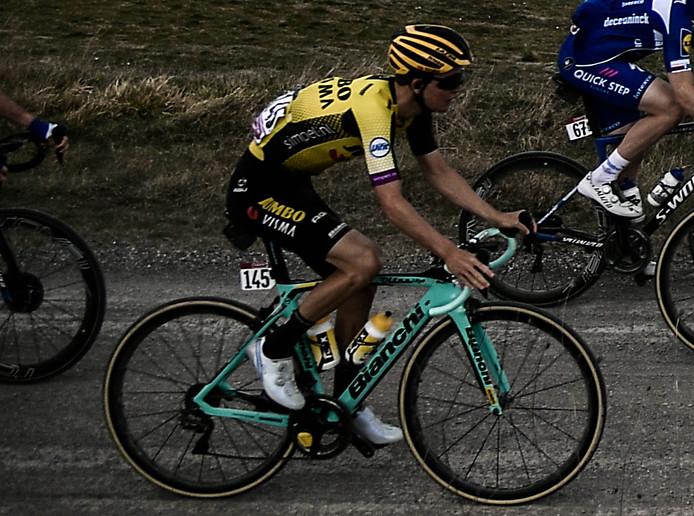Antwan Tolhoek is bezig aan zijn eerste Giro.