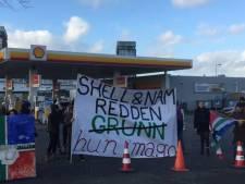 Bezetting Shell-tankstation Groningen voorbij