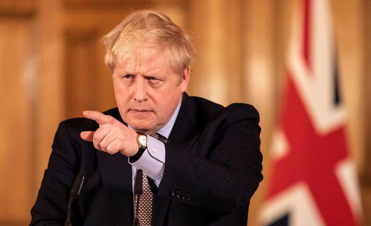 Boris Johnson Beeld REUTERS