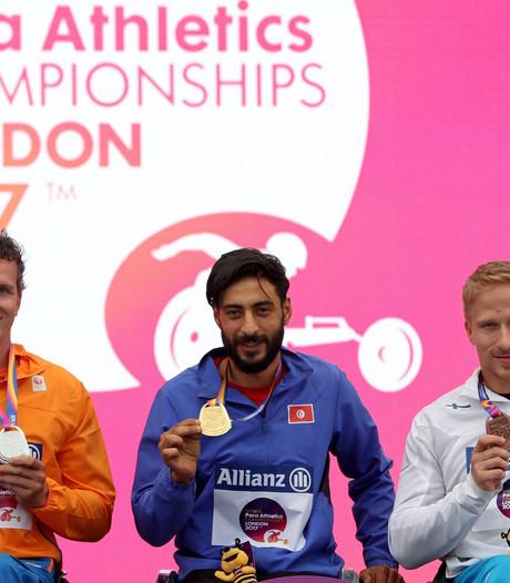 Derde medaille voor wheeler Van Weeghel op WK in Londen