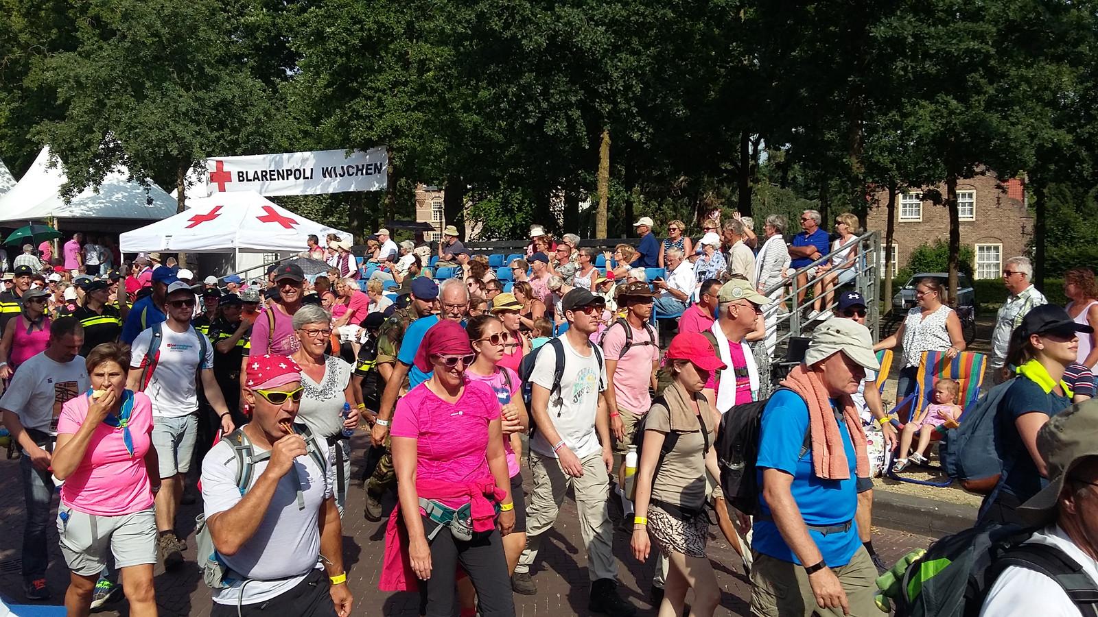 De Magic Mile van de Vierdaagse in Wijchen.
