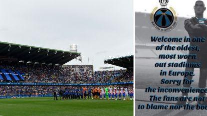Club-fans schamen zich voor Jan Breydel, eisen nieuwe tempel én excuseren zich nu al bij CL-tegenstrevers