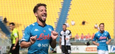 Napoli begint Serie A met overwinning op Parma