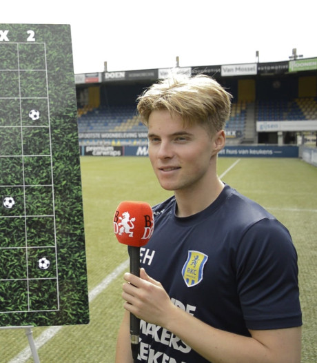 'Profeet' Hansson voorspelt weer belangrijke rol voor Isak bij Willem II: 'Door zijn goals winnen ze van Excelsior'