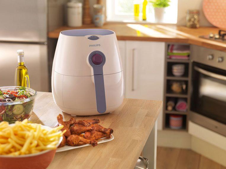 De airfryers, koffiezetapparaten, stofzuigers en andere huishoudelijk producten van Philips waren vorig jaar goed voor een omzet van 2,3 miljard euro.