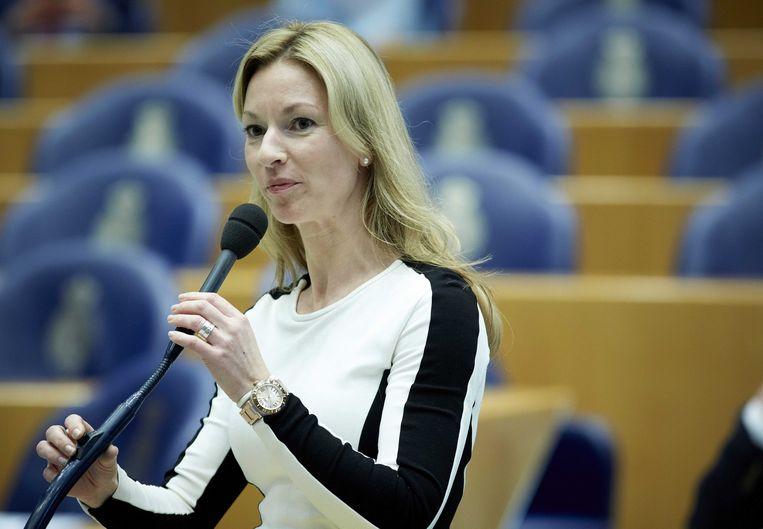PVV-Kamerlid Lilianne Helder. Beeld anp