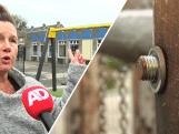Schoolplein doelwit van saboteur, moeren speeltoestellen losgedraaid