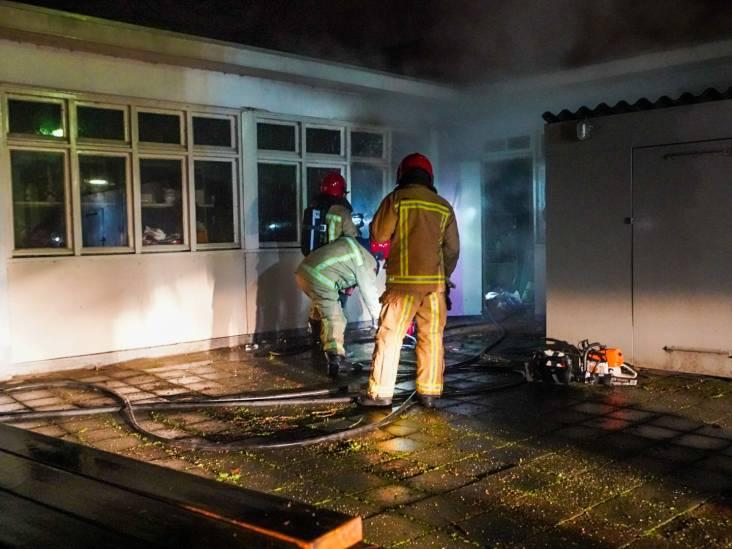 Veel schade door brand in kringloopwinkel Emmaus in Eindhoven, vermoedelijk brandstichting