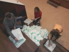 Problemen met tellen van de stemmen in Hilvarenbeek