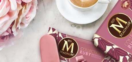 Unilever komt met Magnum van roze chocolade