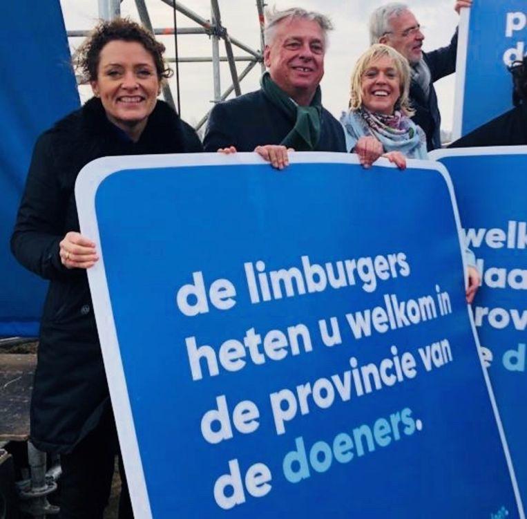 Lydia Peeters, Patrick Dewael en Hilde Vautmans starten de verkiezingscampagne