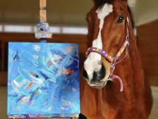 Succesvol racepaard ontsnapt aan de dood door te gaan schilderen
