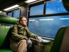 Dit is Aart. Hij zoekt een treinmaatje, maar niemand reageert op zijn oproep