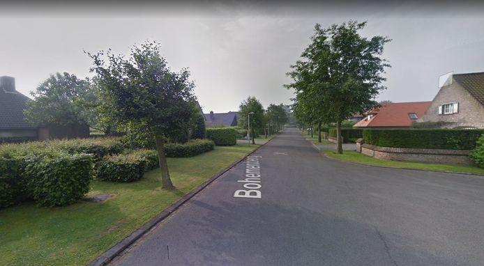 Bohemenberg is een doodlopende zijstraat van de Smokkelpotstraat en bevindt zich bij Sint-Anna, vlak bij het Don Boscocollege.