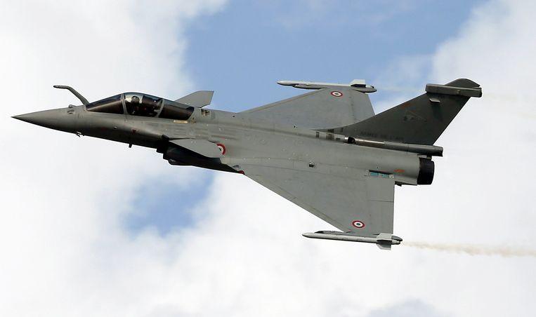 Het Rafale gevechtsvliegtuig van de Franse constructeur Dassault.