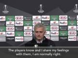 """Mourinho kraakt Europa League: """"Groepsduels niet motiverend voor mijn spelers"""""""