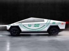 Politie Dubai gaat rijden in de Tesla Cybertruck