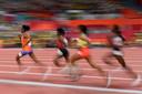 Sifan Hassan snelt weg bij haar concurrentes.